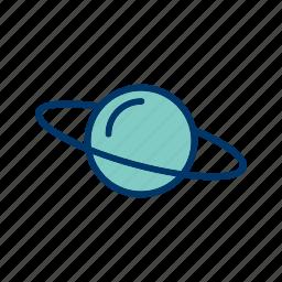 planet, satrun, space, universe icon