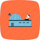 laboratory, nasa, observatory, research icon