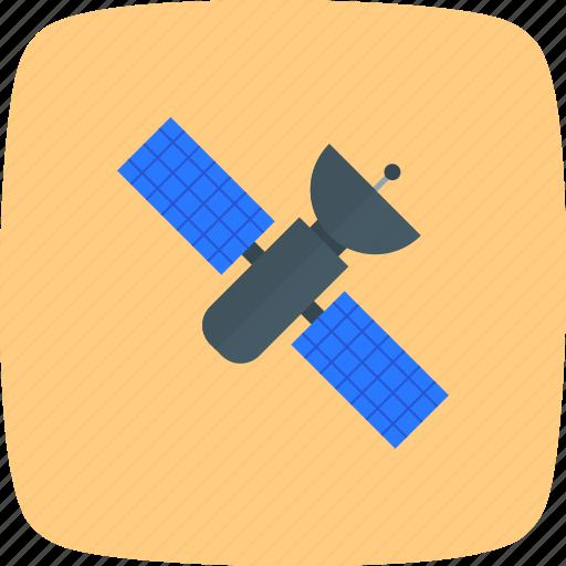 satellite, space, spacecraft, spaceship, station icon