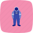 astronaut, astronomy, space, space suit icon