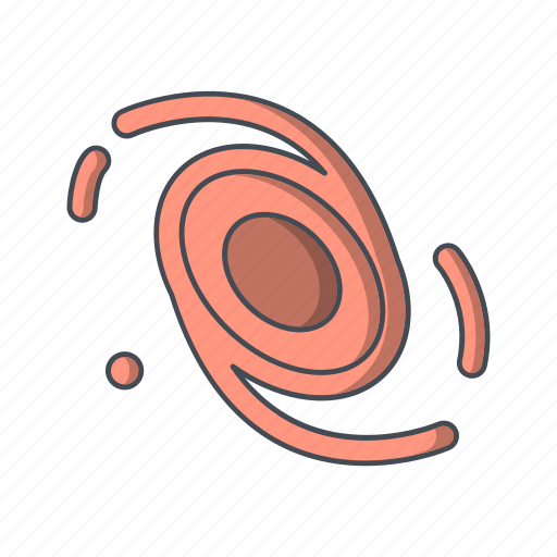 astrology, astronomy, galaxy, planet, science icon