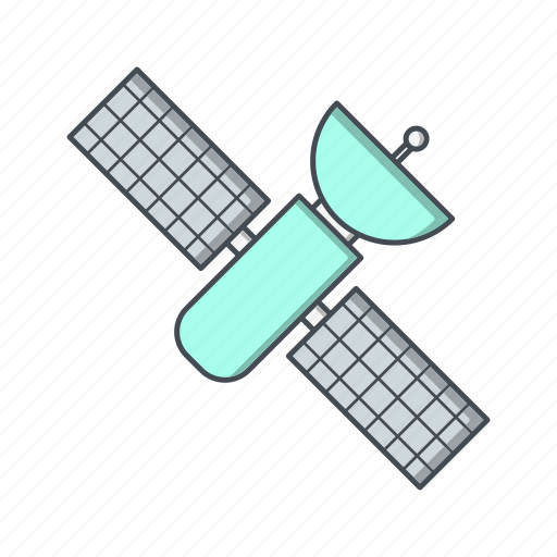 satellite, space, space ship, spacecraft, station icon