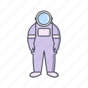 astronomy, astronout, space, suit icon