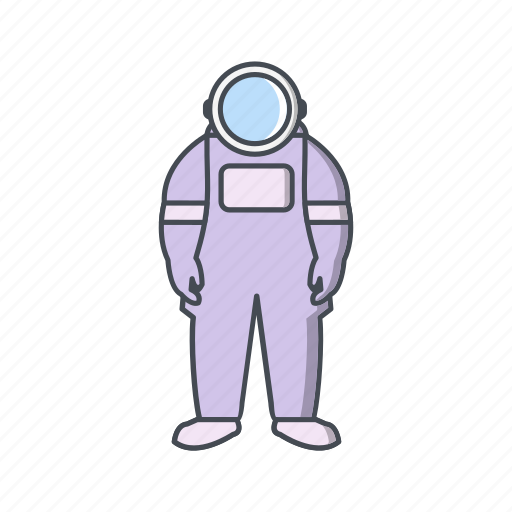 astronaut, astronomy, research, space, suit icon
