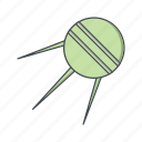 antenna, radar, satellite, sputnik icon