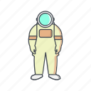 astronomy, astronout, space man, space suit icon