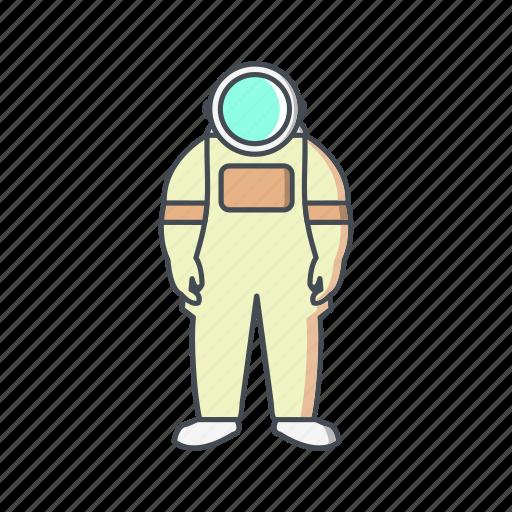 astronaut, astronomy, cosmonaut, space man, space suit icon