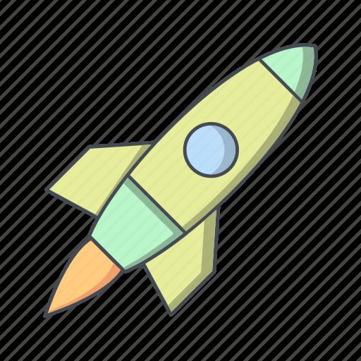 launch, rocket, satellite, space ship, spacecraft icon