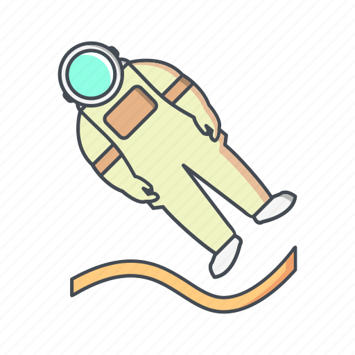 astronaut, astronomy, landing, space, spaceman icon