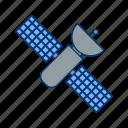 satellite, solar, space, station icon