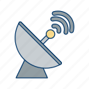 antenna, dish, radar, satellite icon