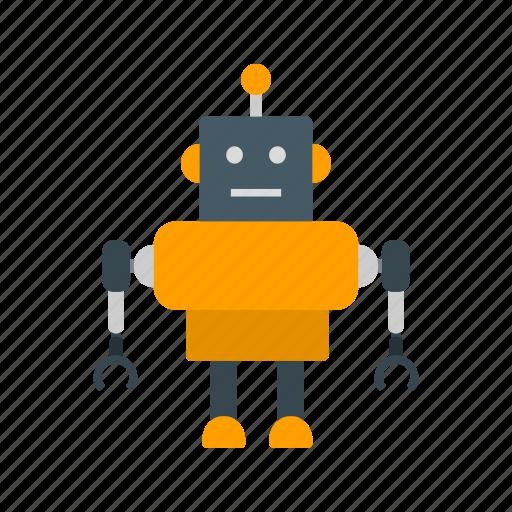 electronic, machine, robot, robotics, technology icon