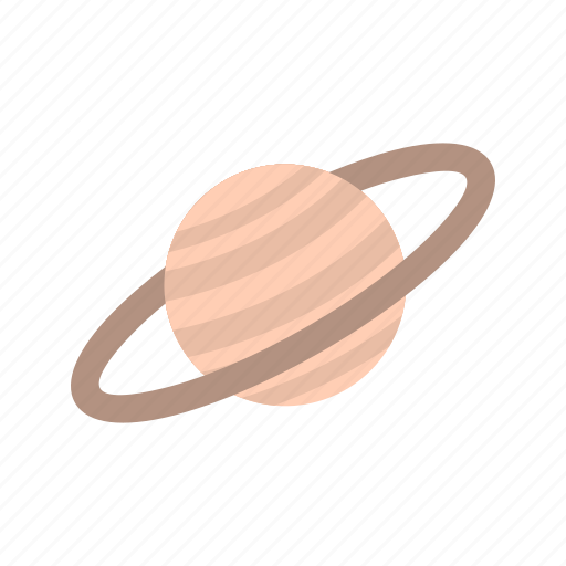 astronomy, planet, satrun, space, universe icon