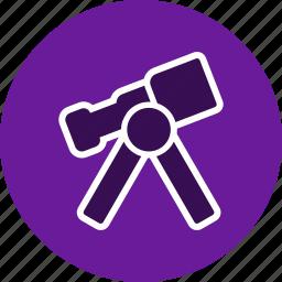 laboratory, science, space telescope, telescope icon
