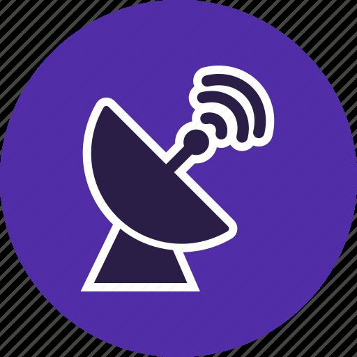 antenna, dish, space antenna icon