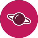 planet, satrun, space, universe icon