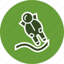 astronout, astronout landing, space, spaceman, universe icon