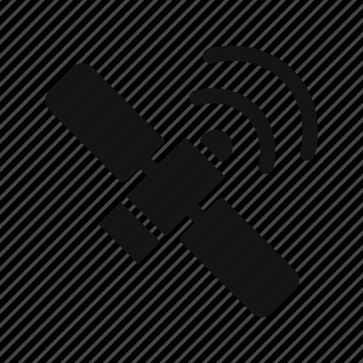 satellite, space, station icon