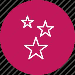 nature, night, rating, sky, stars icon