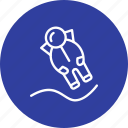 astronout, astronout landing, space icon
