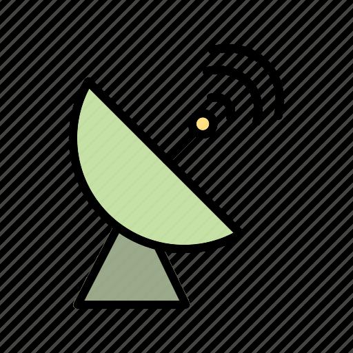 antenna, dish, satellite icon
