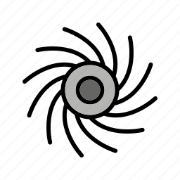 astronomy, black hole, planet, space icon
