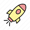 astronomy, rocket, satellite, spaceship icon