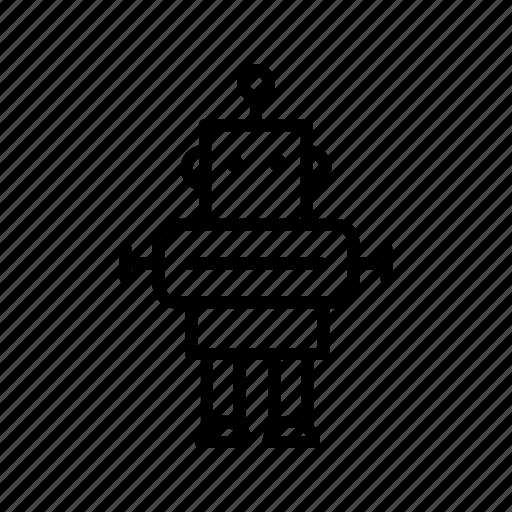 machine, robot, robotics, technology icon