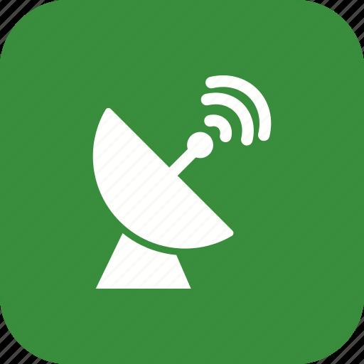 radar, satellite, space antenna icon
