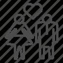 couple, people, heart, love, lovers, dress, human