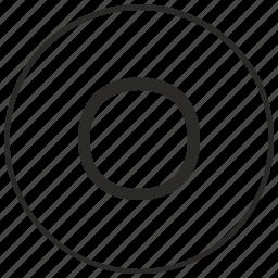 alphabet, atm, letter, o, ui, uppercase icon