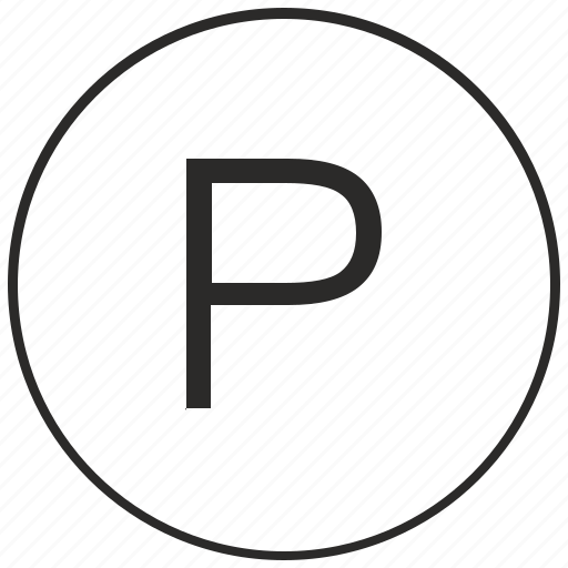 alphabet, atm, letter, p, ui, uppercase icon