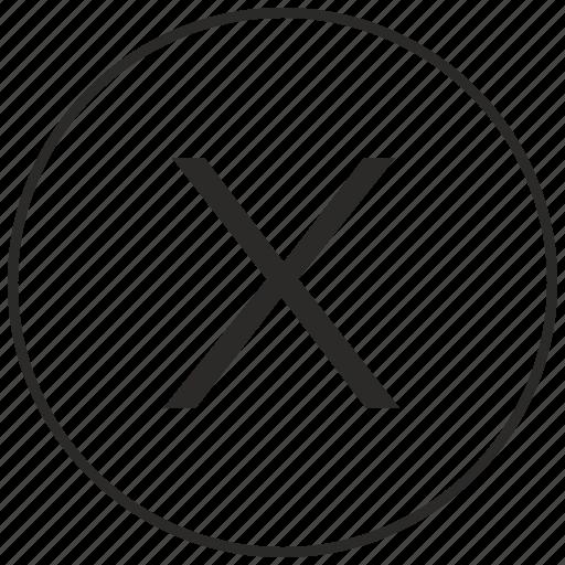 alphabet, atm, letter, ui, uppercase, x icon