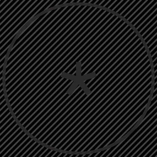 atm, hidden, letter, secret, sign, star, ui icon