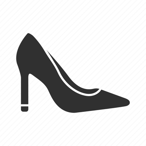 formal shoes, high heels heels women;s shoes icon