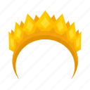 attribute, crown, god icon