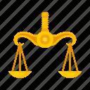 attribute, god, libra icon