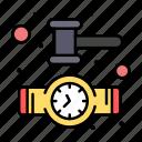 clock, watch, wrist