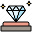 badge, diamond, jewel, luxury, value, wealth