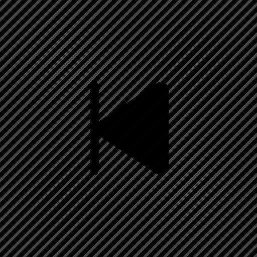 audio, music, previous, sound icon