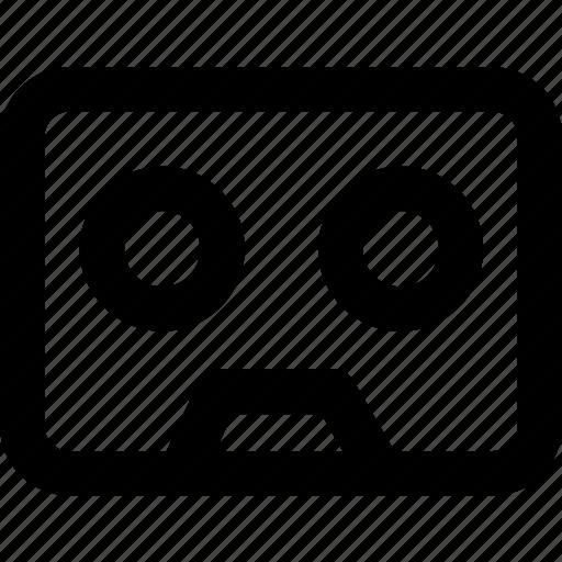 multimedia, music, record, tape icon