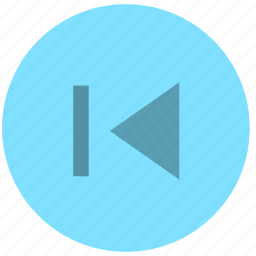 precious, previous, rewind icon