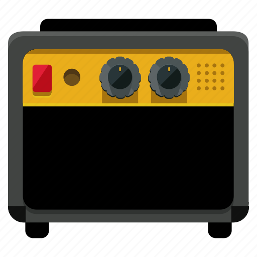 amplifier, audio, device, entertainment, music, sound icon