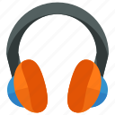 audio, device, entertainment, headphones, headset, sound icon