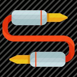 audio, cable, device, plug, sound, storage icon