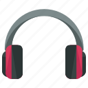 audio, entertainment, headphones, headset, music, sound icon