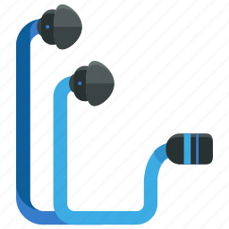 audio, earplugs, entertainment, headphones, headset, music, sound icon