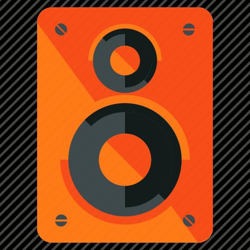 audio, device, entertainment, music, sound, speaker icon