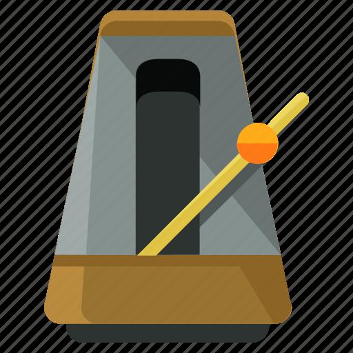 audio, device, entertainment, metronome, music, sound, tempo icon