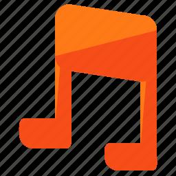 audio, entertainment, music, notes, sound icon